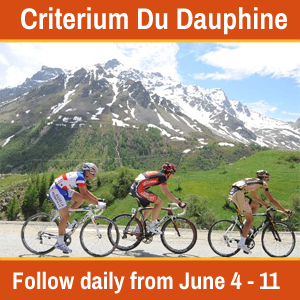Critérium du Dauphiné LIVE Coverage, June 4-11th