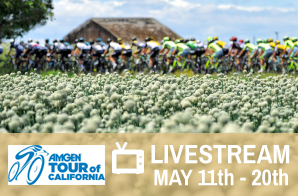 TOUR OF CALIFORNIA LIVESTREAM, May 11th-20th