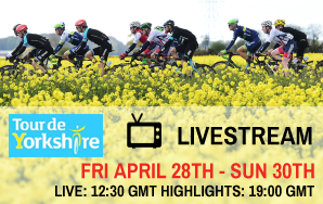 TOUR OF YORKSHIRE LIVESTREAM, Friday April 28th-30th