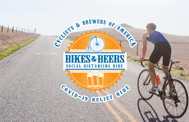 Bikes and Beers introduce Social Distancing Ride to support Craft Breweries and Covid-19 Relief Efforts