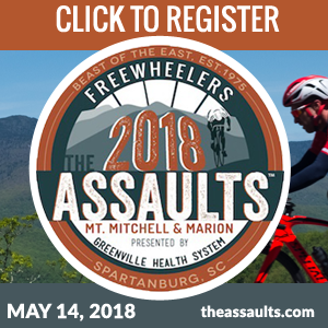 The Southeast's Premier Cycling Event - May 14, 2018 - Register Now!
