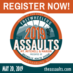 The Assaults on Mt. Mitchell & Marion - The Southeast's Premier Cycling Experirnce! REGISTER NOW!