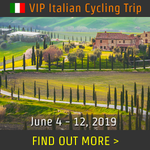 B1 Gruppo ITALY Cycling Trip, June 4 - 12, 2019 - REGISTER NOW!