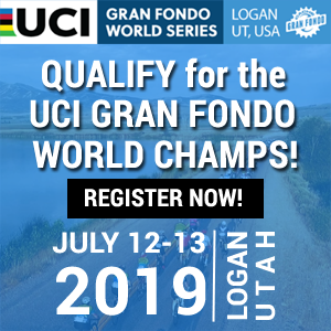 Cache Gran Fondo, Utah, July 12-13, 2019 - REGISTER NOW!