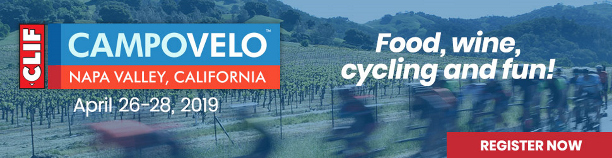 CampoVelo Napa Valley, April 26-28 2019, Chefs, Bikes & Fun!