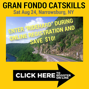 Gran Fondo Catskills, Aug 24, Narrowburg, NY - Register Now