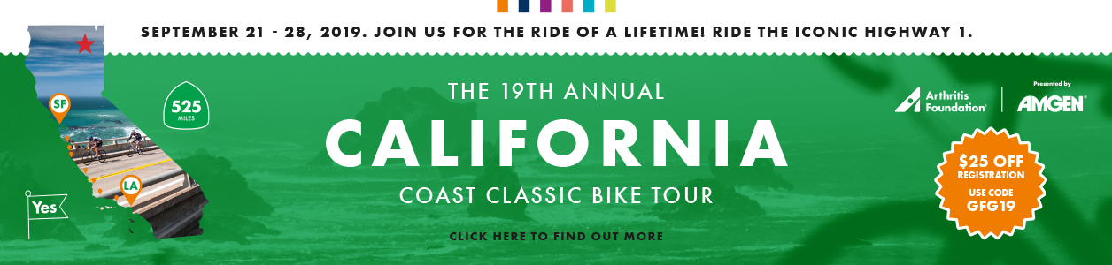 California Coast Classic Bike Tour, September 21-29, 2019 - REGISTER NOW!