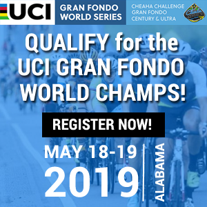 Cheaha Challenge Gran Fondo, Century & Ultra, Alabama, May 18-19, 2019 - REGISTER NOW!!