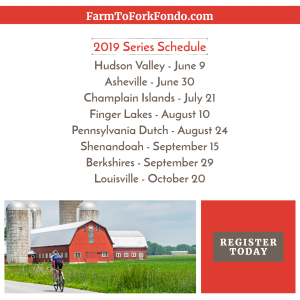 Click Here to Discover the 2019 Farm to Fork Series!