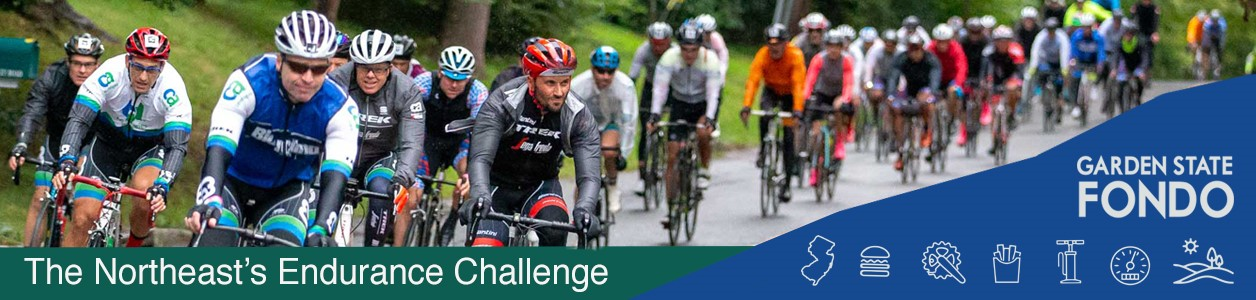 Garden State Fondo, September 8, 2019 - Morristown New Jersey - REGISTER NOW!