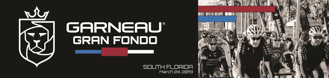 GARNEAU Gran Fondo, Gulfstream Park, Florida - March 24th 2019 - REGISTER NOW!