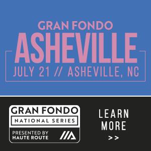 Gran Fondo Asheville, Asheville, NC  -July 21, 2019