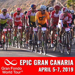 Epic Gran Canaria Gran Fondo, Gran Canaria, Spain, April 5- 7, 2019 - Enter now to win $10,000 USD!