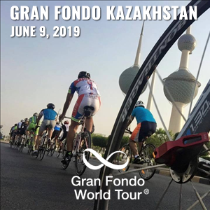 Gran Fondo Kazakhstan, June 9, 2019 - Enter now to win $10,000 USD