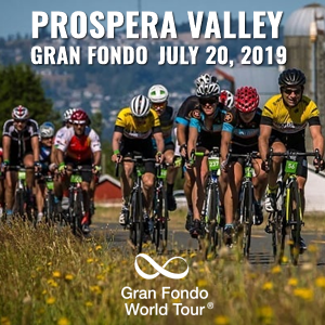 Prospera Valley Gran Fondo, Fort Langley, BC, July 20, 2019 - Enter now to win $10,000 USD!