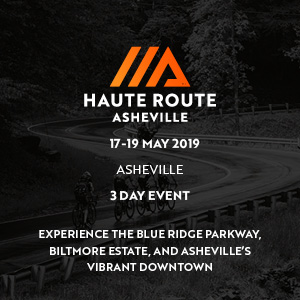 Haute Route Asheville, May 17 - 19, 2019