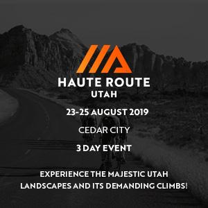 Haute Route Utah, August 23 - 25, 2019