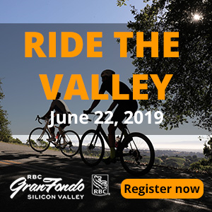 2019 RBC Gran Fondo Silicon Valley - North America's Best Startup Gran Fondo - Register NOW!