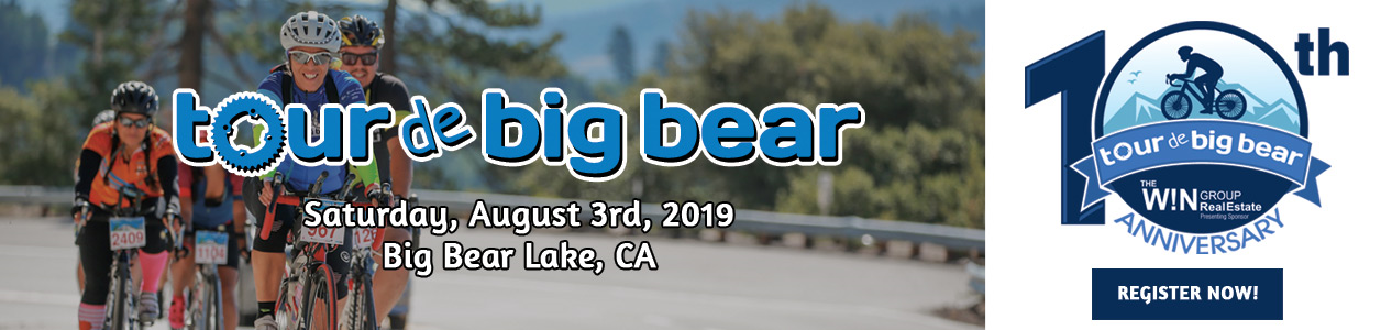 Tour de Big Bear - Big Bear Lake, CA - August 3, 2019 - REGISTER NOW!