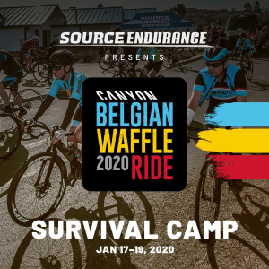Canyon Belgian Waffle Ride Survival Camp 5.0 Returning January 17-19th, 2020