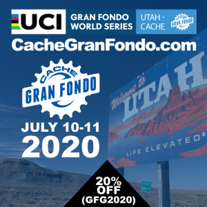 Utah-Cache Gran Fondo - Logan, UT - July 11, 2020 - REGISTER NOW!
