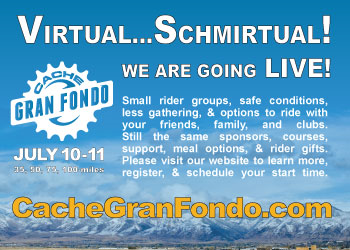 Utah-Cache Gran Fondo - Logan, UT - July 10-11, 2020 - REGISTER NOW!