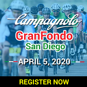 Campagnolo Gran Fondo San Diego, April 5, 2020 - REGISTER NOW!