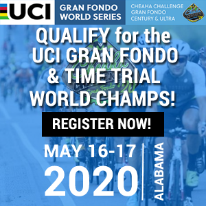 Cheaha Challenge Gran Fondo Century & ULTRA, May 17, 2020 - Register Now!