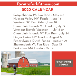 2020 Farm to Fork Fitness Adventures - REGISTER NOW!