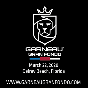 GARNEAU Gran Fondo, March 22nd 2020, Delray Beach, Florida, - REGISTER NOW!