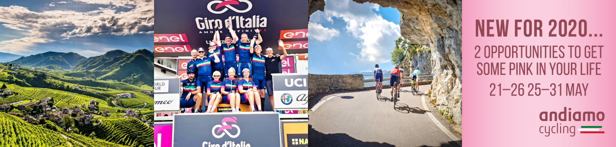 2020 Giro d'Italia with Garda Bike Hotel, May 21st onwards - STRICTLY LIMITED PLACES!