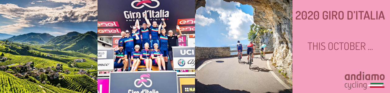 2020 Giro d'Italia with Garda Bike Hotel this October - STRICTLY LIMITED PLACES!