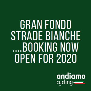 Ride Strade Bianche with Andiamo Cycling!