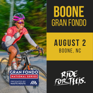 Boone Gran Fondo, August 2, Boone, NC - REGISTER NOW!