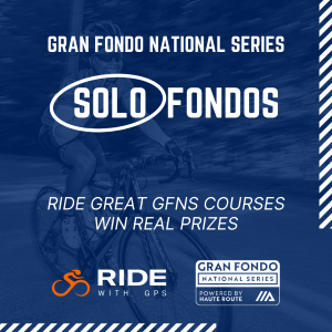 2020 GFNS Jensie Solo Fondo, September 11-30 - WIN A TRIP TO GARDA BIKE HOTEL!