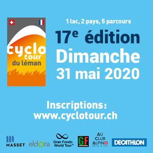 2020 Cyclotour du Léman, Léman, Switzerland - REGISTER NOW!!
