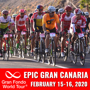 Epic Gran Canaria Gran Fondo, Gran Canaria, Spain, April 5- 7, 2019 - Enter now to win $10,000 USD!