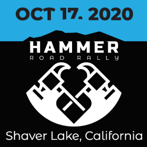 The Hammer Road Rally, Oct 17 2020, Clovis, CA - REGISTER NOW!