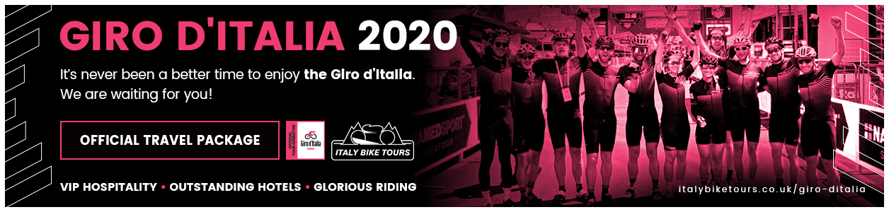 2020 Giro d'Italia with Italy Bike Tours  this October- Limited Places!