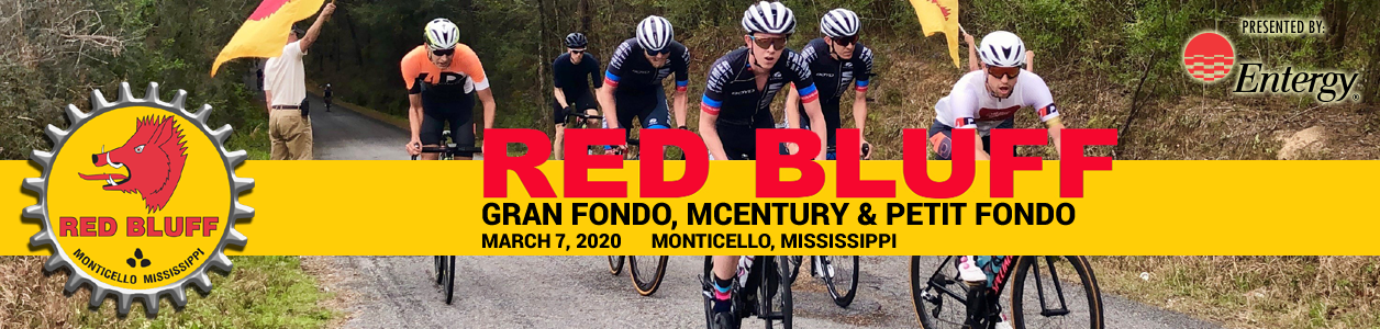 Red Bluff Gran Fondo, March 7th 2020 >> Visit Mississippi!