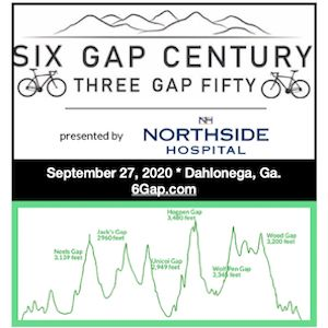 Six Gap Century Bike Ride - Dahlonega, Georgia - Sun, Sept 27th - REGISTER NOW!