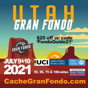 COVID SAFE 2021 Utah-Cache Granfondo in ON!