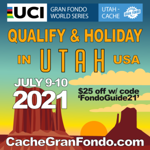 COVID SAFE 2021 Utah-Cache Granfondo in ON!