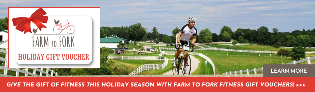Give the Gift of Fitness this Holiday Season with Farm to Fork Fitness Gift Vouchers!