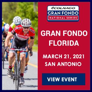 Gran Fondo Florida, March 21 2021, San Antonio - REGISTER NOW!