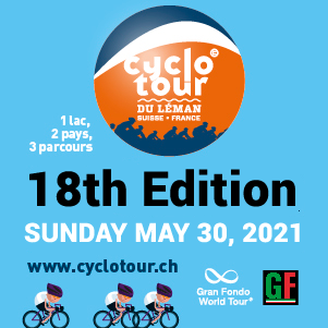 2021 Cyclotour du Léman, Switzerland - REGISTER NOW!
