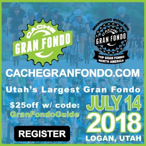 Cache Gran Fondo, July 14, Logan, Utah - Utah's Largest Gran Fondo - Register NOW!