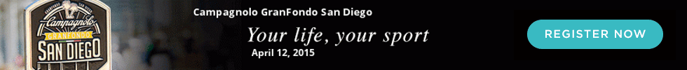 Campagnolo Gran Fondo San Diego, Sunday, April 12th 2015, Your Life, Your Sport - Register Now