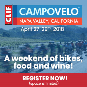 CampoVelo Napa Valley, April 27-29th 2018, Chefs, Bikes & Fun!
