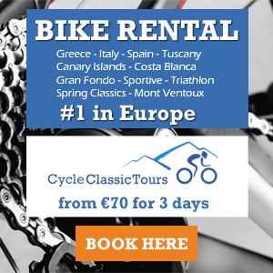 Number 1 Choice In European Bike Rental from €70 for 3 days - Sportives, Gran Fondos,Training Camps - Hire Now!